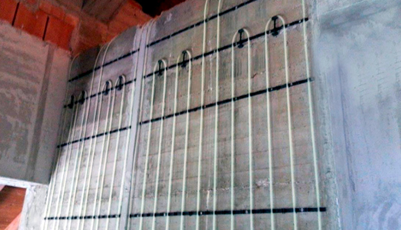 Los sistemas de Muro Radiante: Una solución en calefacción